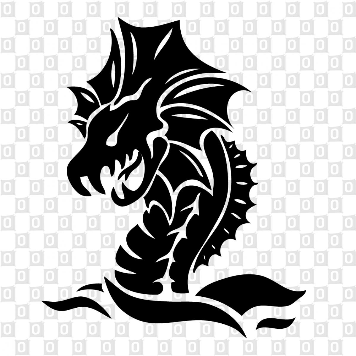 Dragons Drachen 11 Aufkleber Von Onlinestickerch