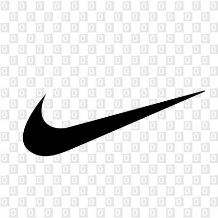 Nike Logoaufkleber