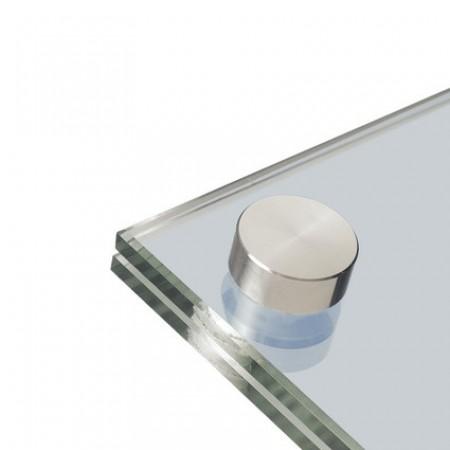 15mm nano Dekokappe Edelstahl