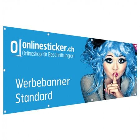 Werbebanner Werbeblachen Ösen Banner mit Saum Blache mit Ösen