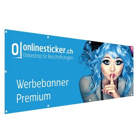 Werbebanner Premium (Blockout 800g/qm)