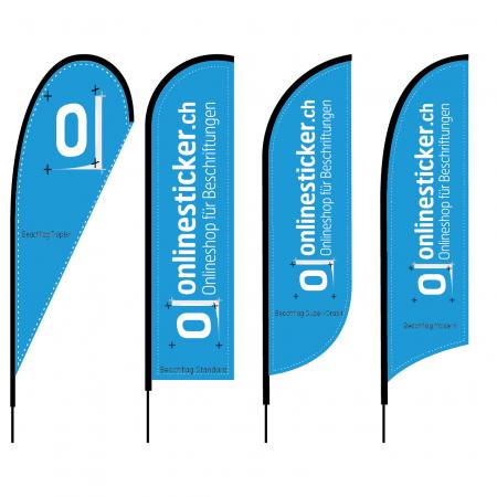 Beachflags Fahnen bedruckt bedruckte Fahnen Flags