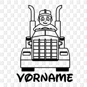 Babyaufkleber Namenaufkleber Kleber für Heckscheibe Lastwagen Kleber Sticker