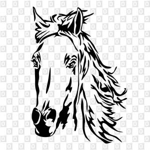 Pferdekleber Pferdekopfkleber Horsesticker Kleber für an das Auto