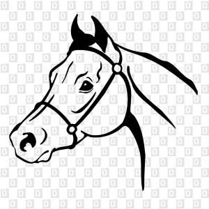 Horsehead Kleber Aufkleber Autokleber
