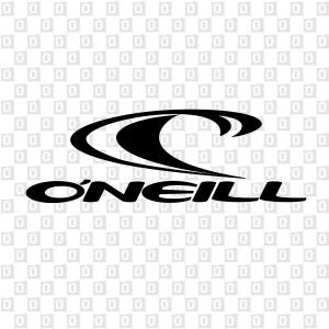 O'Neill Kleber mit Welle konturgeschnitten
