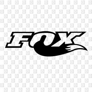 FOX Kontur Aufkleber
