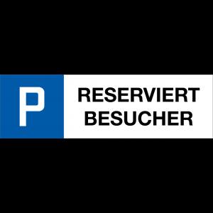 P RESERVIERT BESUCHER