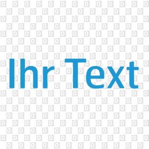 Schriftenaufkleber Textaufkleber einzeilig Autoaufkleber
