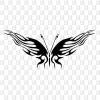 Schmetterlingsaufkleber