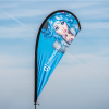 Beachflag Tropfen-Design