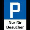 Parkplatzschilder nur für Besucher