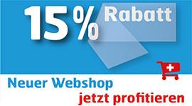 15% Rabatt bei onlinesticker.ch