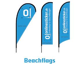 Beachflags und Fahnen inkl. Zubehör für Beachflags und Fahen